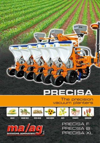 PRECISA the precision vacuum planters