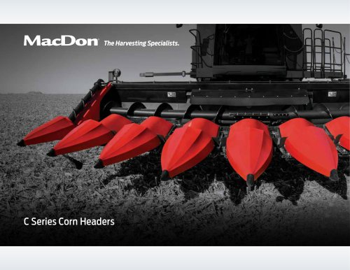 C Series Corn Header