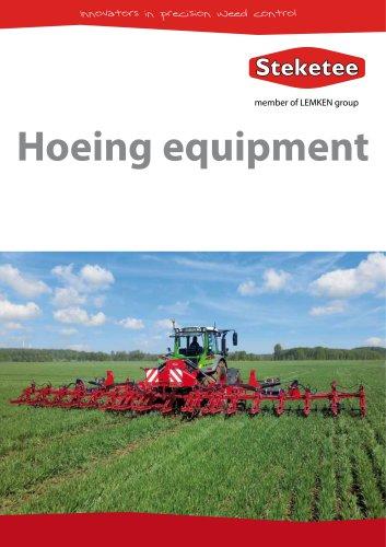 Hoeing equipment