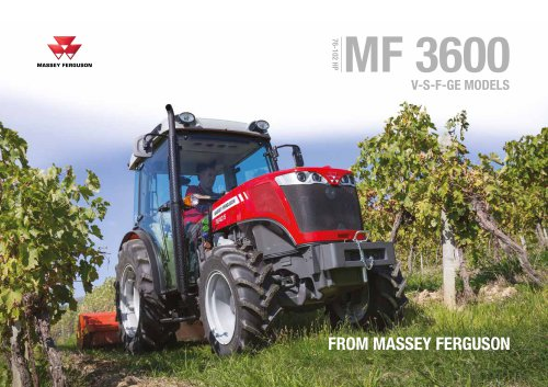 MF 3600 V/S/F/GE