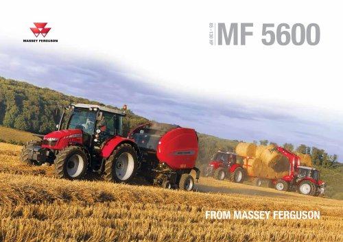 MF Tractor 5600
