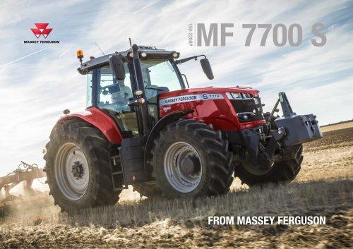 New MF 7700 S Brochure