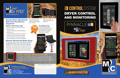 DRYER CONTROL AND MONITORING