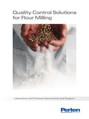 Analysis solutions for flour milling