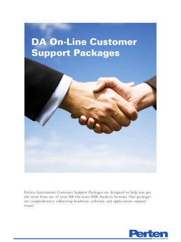 DA 7300/7440 Customer Support Packages