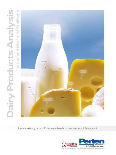 Quality control solutions for the Dairy industry