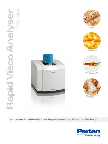 Rapid Visco Analyser RVA 4500