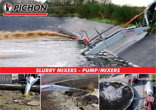 SLURRY MIXERS - PUMP/MIXERS