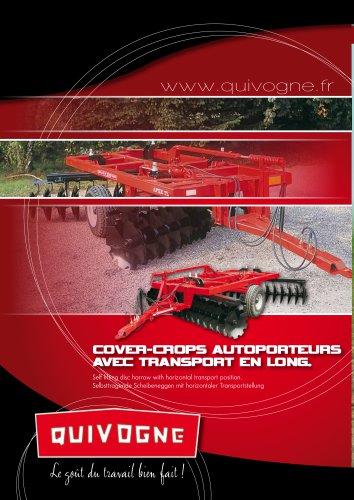 Cover-crops autoporteurs AVEC transport en long