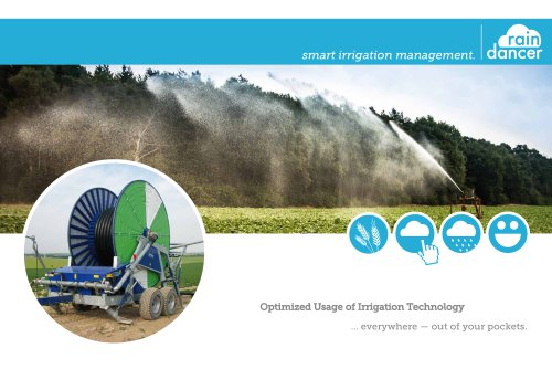 smart irrigation management.