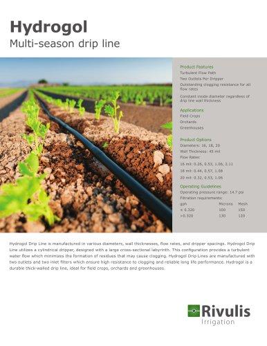 Hydrogol Multi-season drip line