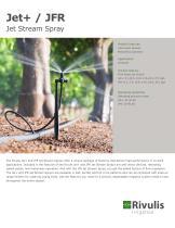 Jet + Jet Stream Spray, JFR Flow Regulated Jet Stream Spray - 1