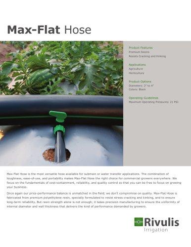 Max-Flat Hose