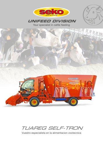 Chopping-mixing wagons Vertical TUAREG SELF-TRON