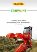 TURNING MACHINES FOR TRAPEZOIDAL WINDROWS - 1