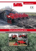 Chisel subsoiling plough HKDx