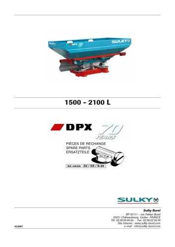 DPX PrimaDPX 70 ans