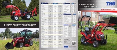 TYM USA Catalog Subcompact