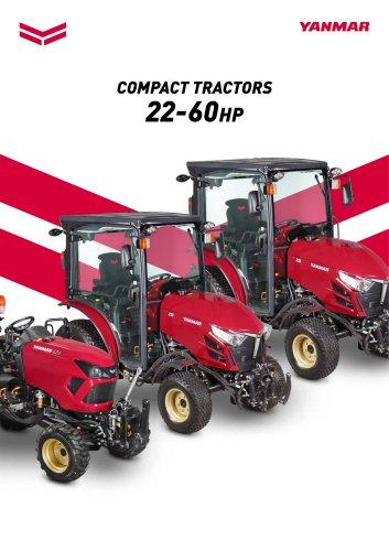 COMPACT TRACTORS 22-60HP