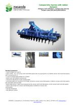Compact disc harrow with rubber dampers - 1