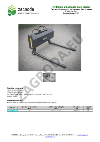 Hydraulic adjustable