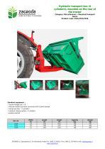 Hydraulic transport box - 1