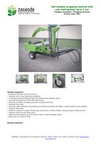 Self-loading wrapping machine with rear loading-bale up to 1,2m - 1