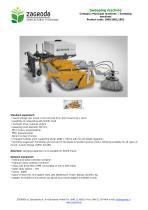 Sweeping machine - 1