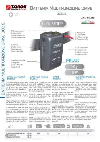Batteria Multifunzione drive