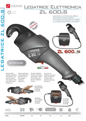 Electronic tying ZL 600.S