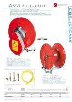 Pneumatic hose reel