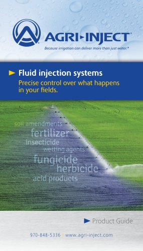 Agri-Inject® Complete Product Guide