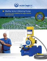 MacRoy Series G Metering Pumps