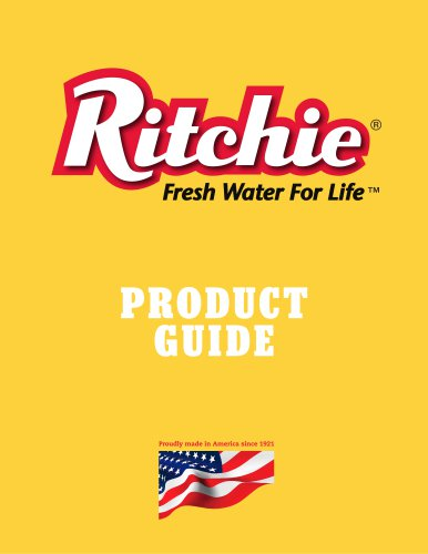 2018 ritchie product catalog