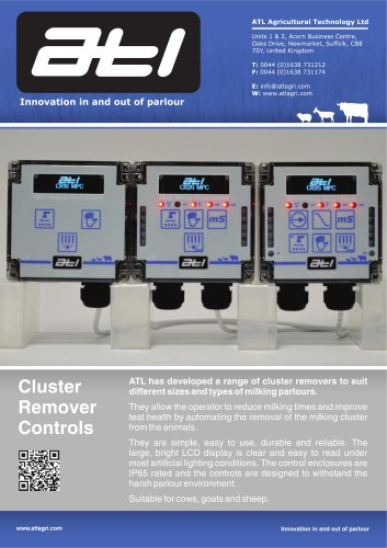 Cluster Remover Controls