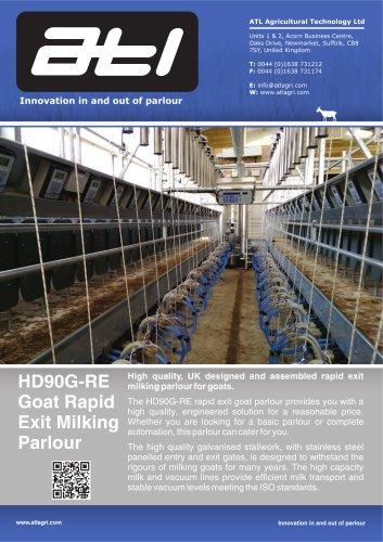 HD90G-RE Goat Rapid Exit Milking Parlour