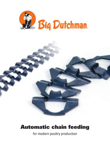 Automatic chain feeding