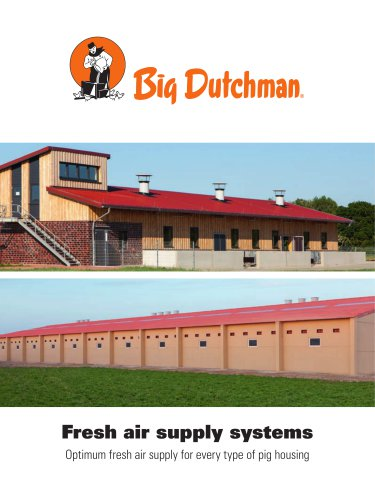Fresh air supply systems