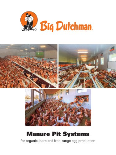 Manure pit systems