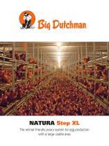 NATURA Step XL aviary system