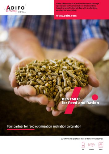 BESTMIX for Feed & Ration