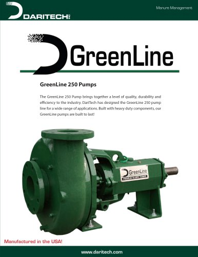 GreenLine 250 Pumps
