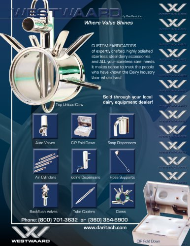Milking Equipment Brochure