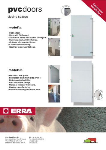 Doors PVC aluminium