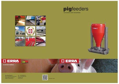 Pig feeders