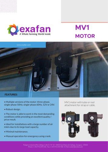 Sheet - MV1 Motor
