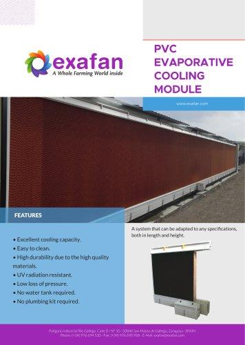 Sheet - PVC Cooling Module