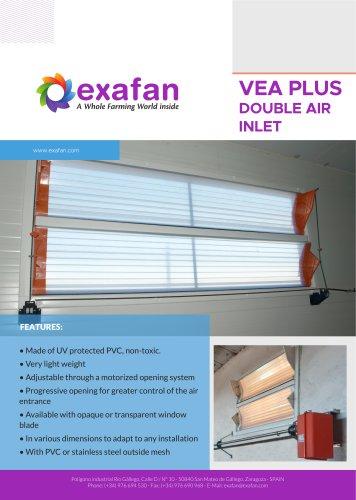 Sheet - VEA-PLUS Air inlet