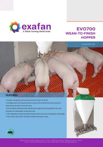Sheet - Wean-To-Finish EVO700