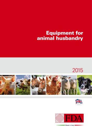 Equipment for animal husbandry 2015